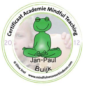 Jan-Paul Buijk Certificaat-stempel